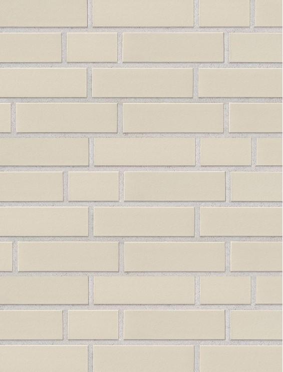 Клинкерная плитка Stroeher со швом - «140 weiss»