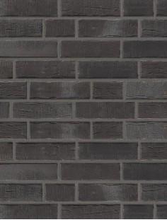 Клинкерная плитка Stroeher со швом - «376 platinschwarz»