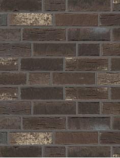Клинкерная плитка Stroeher со швом - «377 platinbraun»