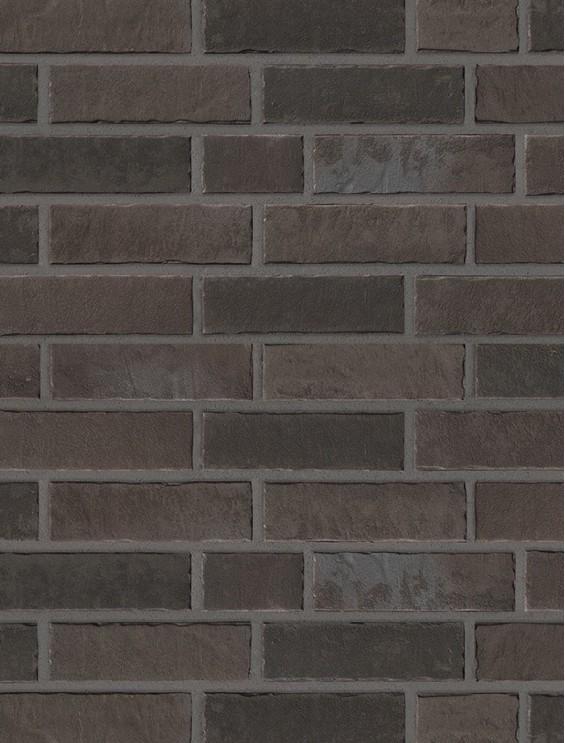 Клинкерная плитка Stroeher со швом - «359 kohleglanz»